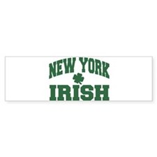 New York Irish Bumper Bumper Sticker