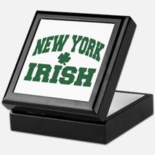 New York Irish Keepsake Box