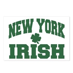 New York Irish Postcards (Package of 8)
