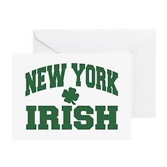 New York Irish Greeting Cards (Pk of 10)