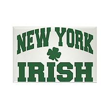 New York Irish Rectangle Magnet