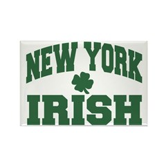 New York Irish Rectangle Magnet (10 pack)