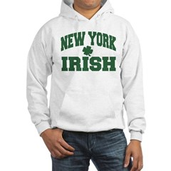 New York Irish Hooded Sweatshirt