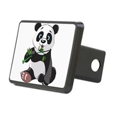 Panda Eating Bamboo-2 Hitch Cover
