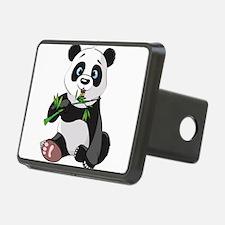 Panda Eating Bamboo-2 Hitch Cover