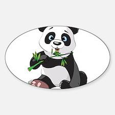 Panda Eating Bamboo-2 Decal