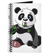 Panda Eating Bamboo-2 Journal