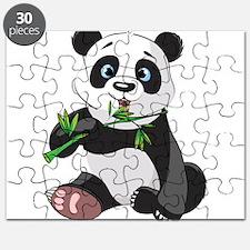 Panda Eating Bamboo-2 Puzzle