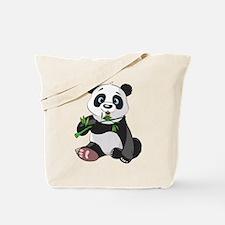 Panda Eating Bamboo-2 Tote Bag