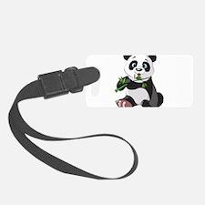 Panda Eating Bamboo-2 Luggage Tag