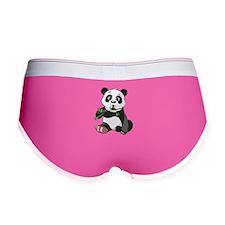 Panda Eating Bamboo-2 Women's Boy Brief
