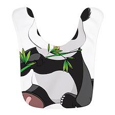 Panda Eating Bamboo-2 Bib