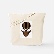 The Brown Alien Spike Tote Bag