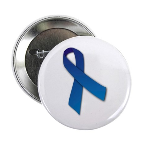 """Blue Ribbon 2.25"""" Button (100 pack)"""