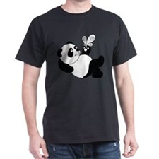 Panda with Butterfly T-Shirt