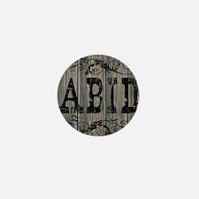 Abid, Western Themed Mini Button