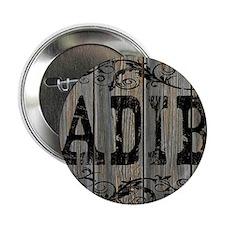 """Adib, Western Themed 2.25"""" Button"""