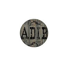 Adib, Western Themed Mini Button