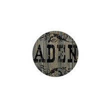 Aden, Western Themed Mini Button