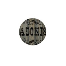 Adonis, Western Themed Mini Button