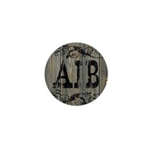 Aib, Western Themed Mini Button