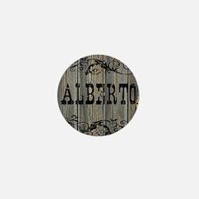 Alberto, Western Themed Mini Button