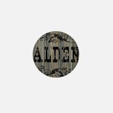 Alden, Western Themed Mini Button
