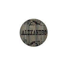 Alexandro, Western Themed Mini Button