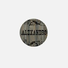Alexandro, Western Themed Mini Button