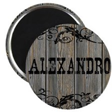 Alexandro, Western Themed Magnet