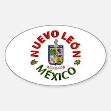 Nuevo León Oval Decal