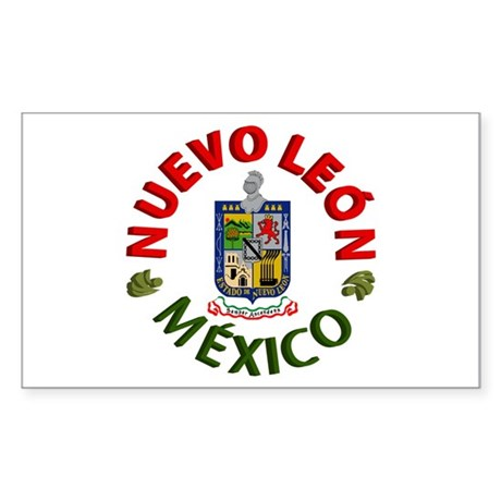 Nuevo León Rectangle Sticker