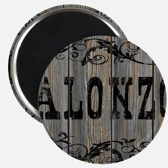 Alonzo, Western Themed Magnet
