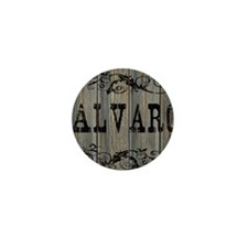 Alvaro, Western Themed Mini Button