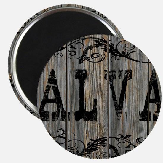 Alva, Western Themed Magnet
