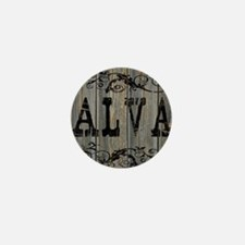 Alva, Western Themed Mini Button