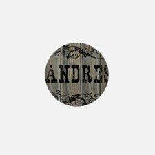 Andres, Western Themed Mini Button