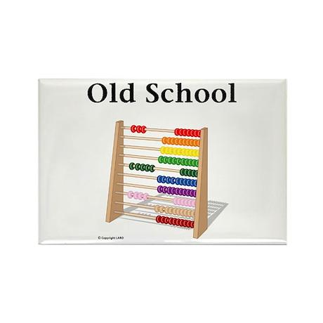 Old School Rectangle Magnet (10 pack)