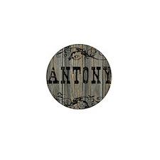 Antony, Western Themed Mini Button