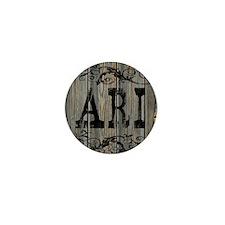 Ari, Western Themed Mini Button