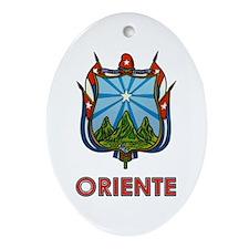 Escudo de Oriente Oval Ornament