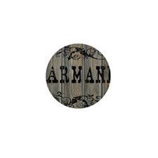 Armani, Western Themed Mini Button
