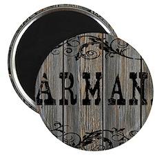 Armani, Western Themed Magnet