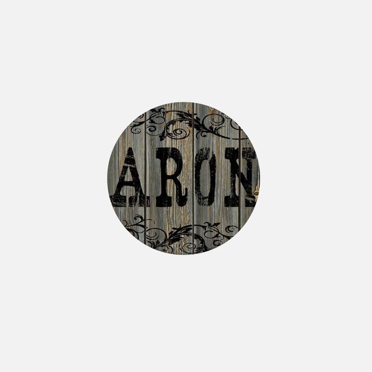 Aron, Western Themed Mini Button
