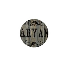 Aryan, Western Themed Mini Button