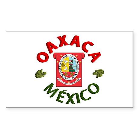 Oaxaca Rectangle Sticker
