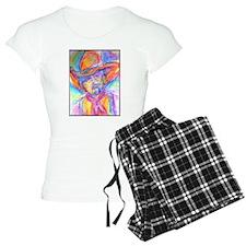 Colorful cowboy art Pajamas