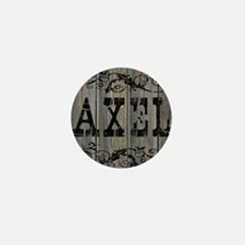 Axel, Western Themed Mini Button