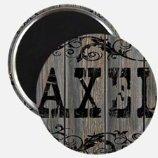 Axel, Western Themed Magnet