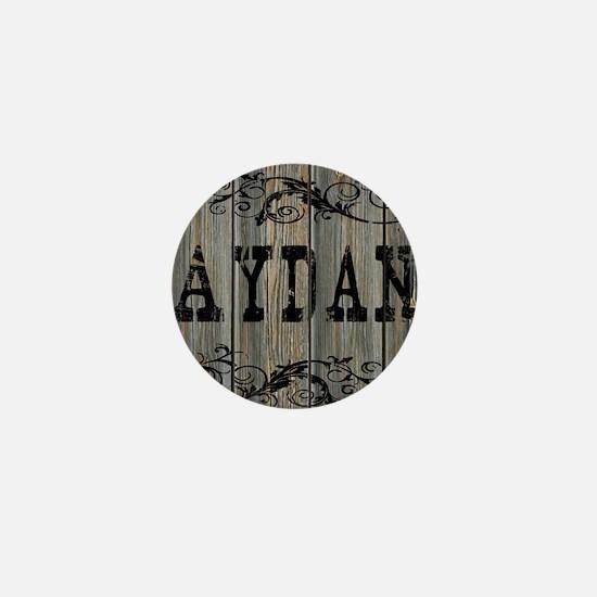 Aydan, Western Themed Mini Button